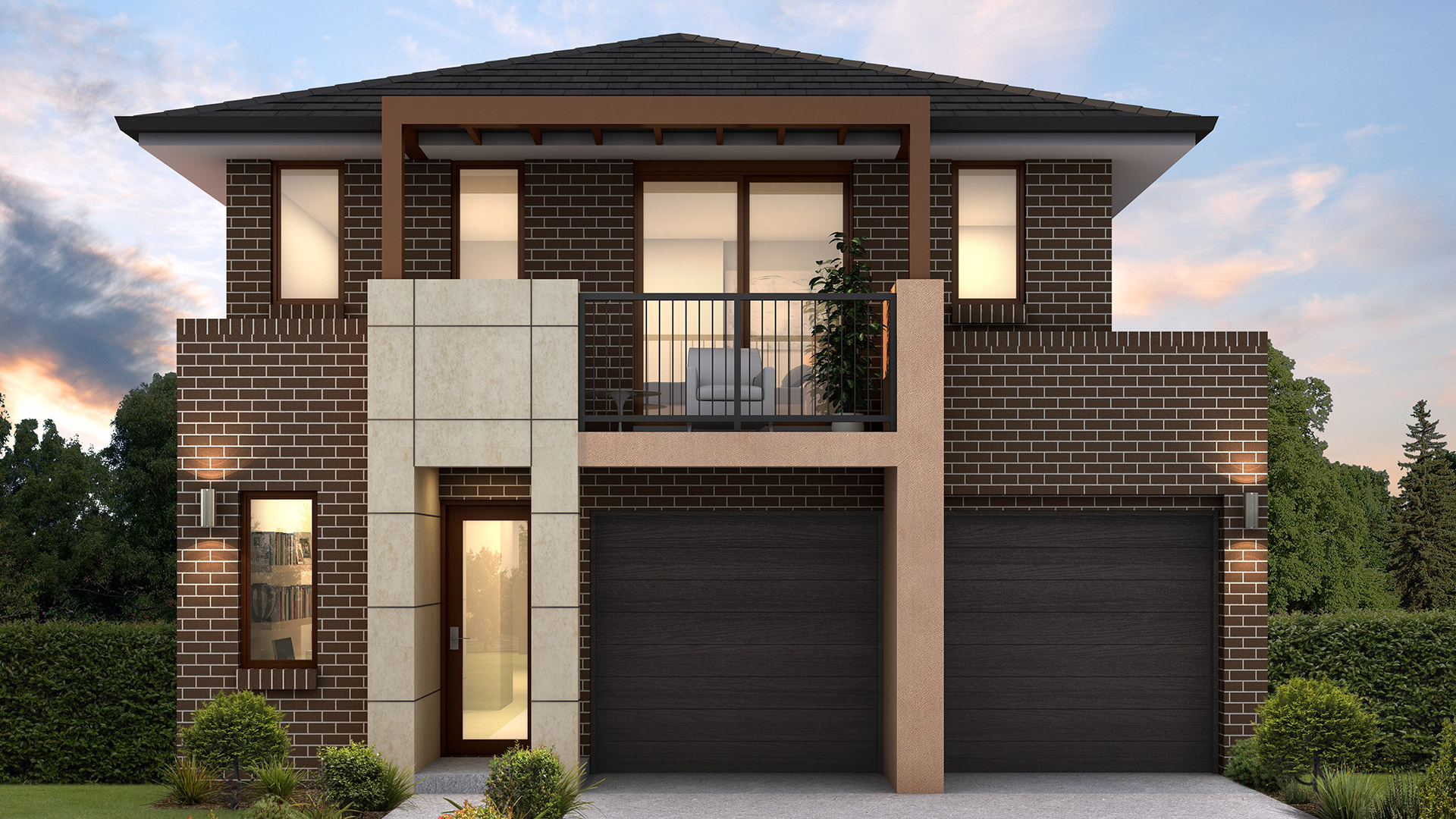 Accent Double Storey Ashwood Facade