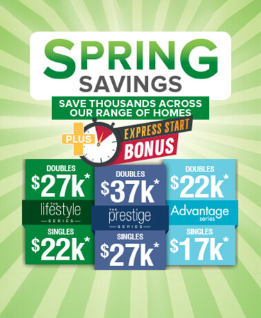 Connect homes banner 5% deposit